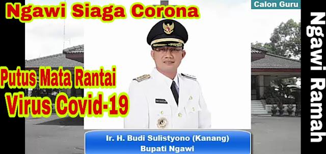 Bupati Ngawi Memerintahkan Sekolah di Kabupaten Ngawi Libur untuk Mencegah Penyebaran Virus Corona #COVID19