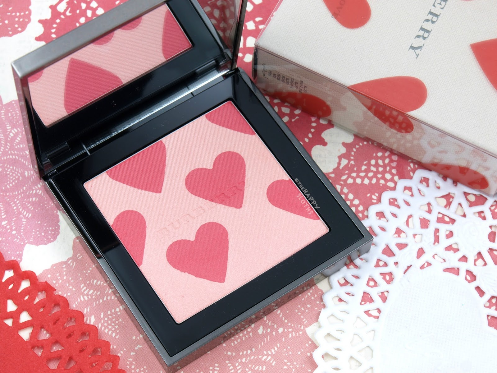 Burberry First Love Blush Highlighter: Review and Swatches
