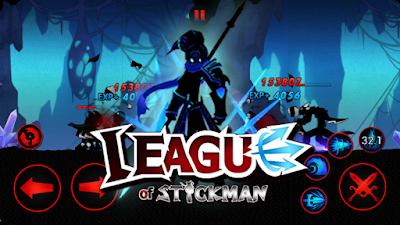 League of Stickman 2017 v3.0.1 Mod Apk for Android Terbaru