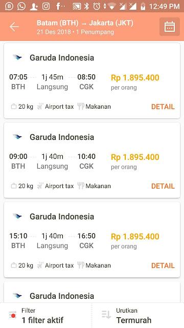 Pengalaman Cari dan Pesan Booking Tiket Pesawat Promo Harga Murah Online Lewat Situs Aplikasi PegiPegi