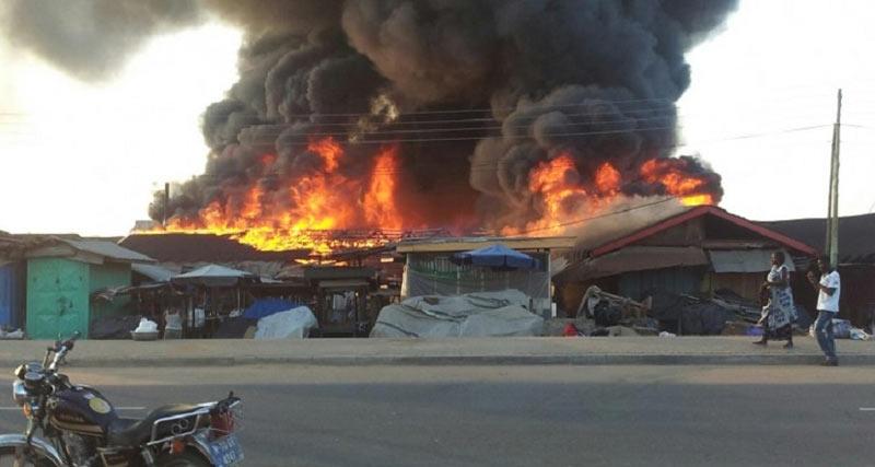 Biafran Market, Onitsha razed by fire