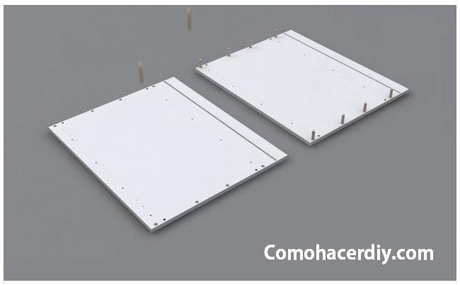 Vídeo montaje muebles de cocina con placas de melamina | Web del ...