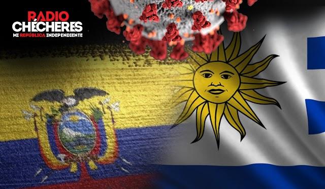 Ecuador, estado de excepción, toque de queda y ley seca. Uruguay, cierra todas sus fronteras y despliega militares.