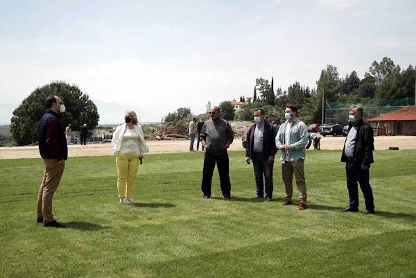 Ράχες: Νέος χλοοτάπητας προδιαγραφών Super League στο γήπεδο