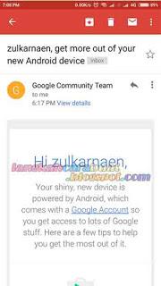 cara daftar gmail di hp android