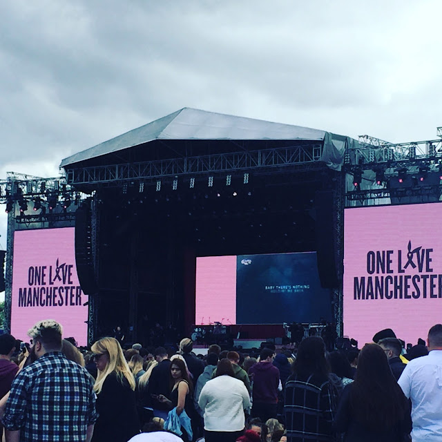 One Love Manchester stage