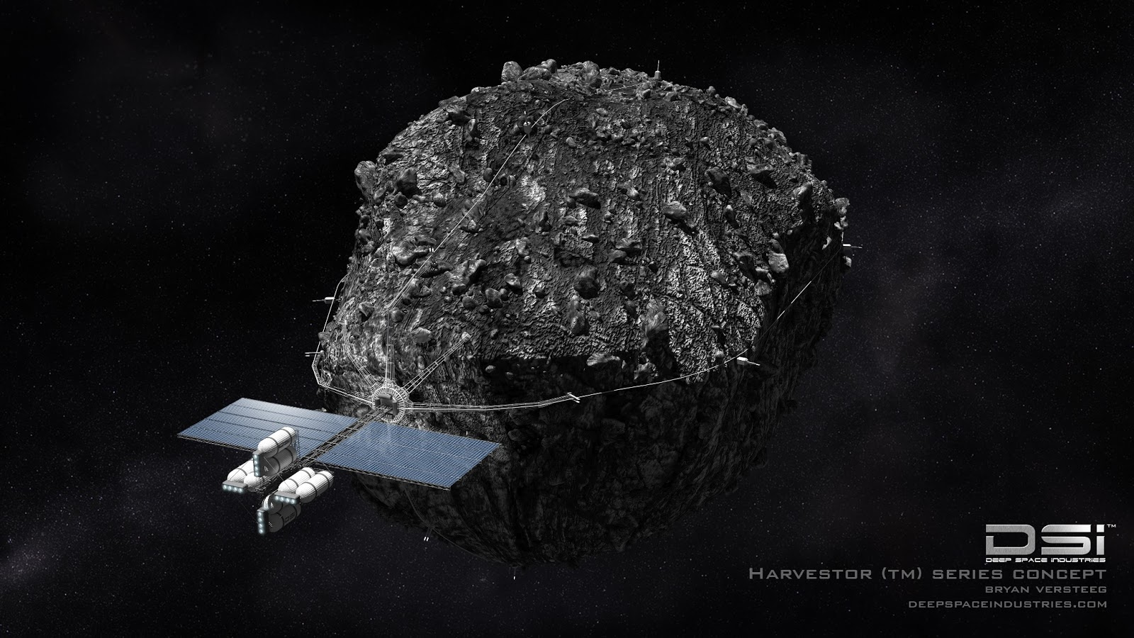 asteroid in space - photo #32