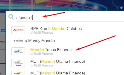cek angsuran mandiri tunas finance online