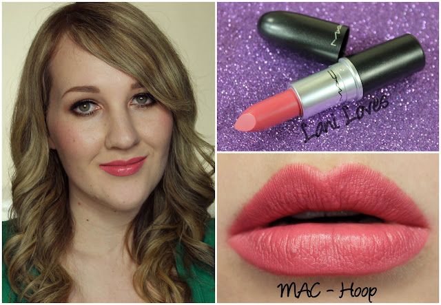 MAC Hoop lipstick swatch