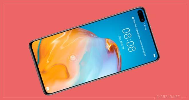 Huawei P40 ekranı