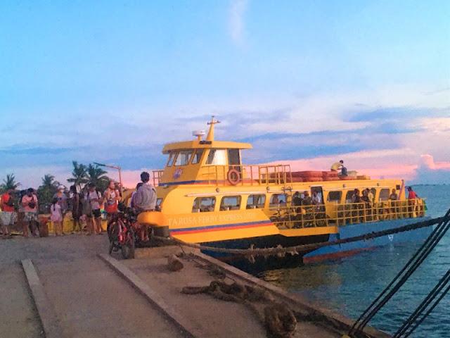 Olango Island - Barge for Bikers