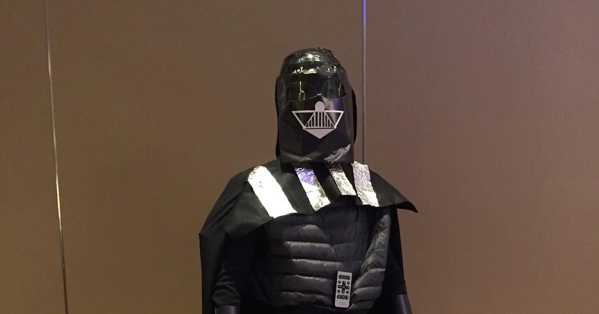 Ally's In Wonderland: Darth Vader Costume