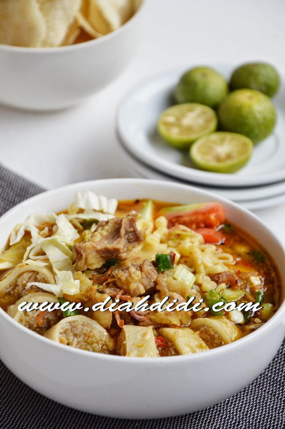 Resep Soto Bogor : resep, bogor, Didi's, Kitchen: