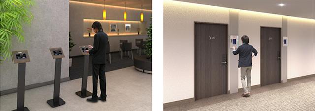 NEC fornece tecnologia de reconhecimento facial aos hotéis Mitsui Fudosan