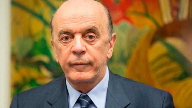 La Fiscalía denuncia al senador brasileño y excandidato presidencial José Serra por presunto lavado de dinero