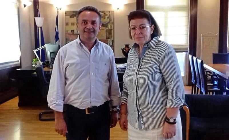 Την ανάδειξη του πολιτιστικού πλούτου του Έβρου ζητά από το Υπουργείο Πολιτισμού ο Σταύρος Κελέτσης