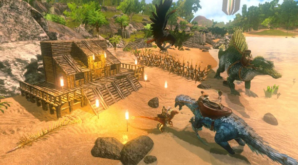 Download ARK Survival Evolved Mod Apk + Data v1.1.13 Unlimited Amber Android Terbaru