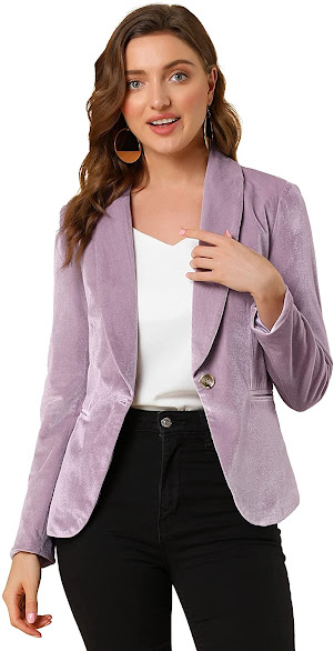 Good Quality Velvet Blazers For Women