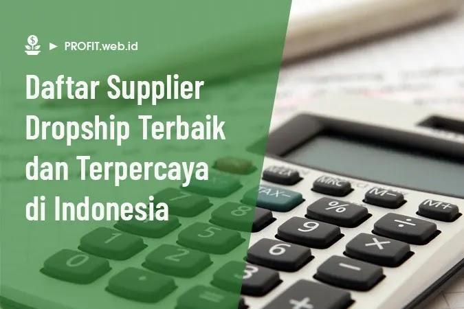 supplier dropship terbaik dan terpercaya di Indonesia