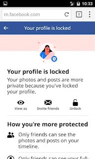 unlocke facebook