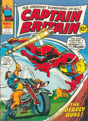 Marvel UK, Captain Britain #38, the Highwayman