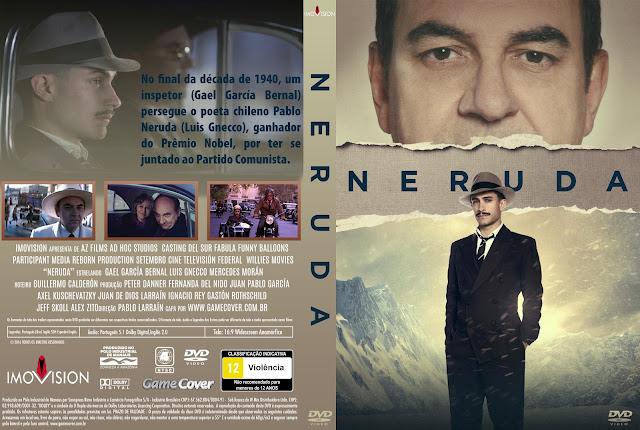 Capa DVD Neruda [Exclusiva]