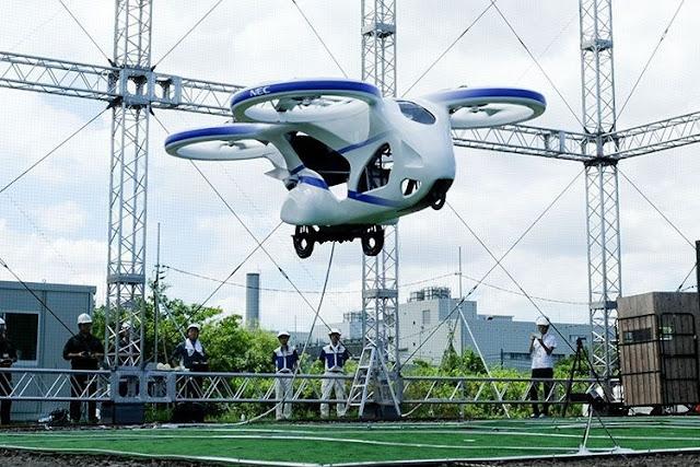 У Японії випробували літаючий автомобіль