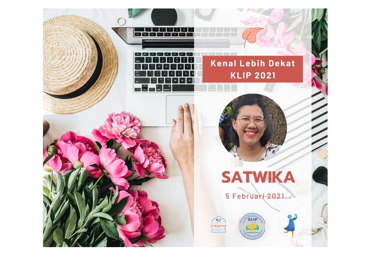 Satwika Citahariasmi Heniono : Belajar Menjadi Ghostwriter