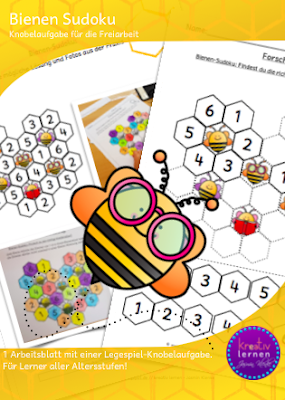 Drachenstübchen: Bienen Sudoku - heute gratis!