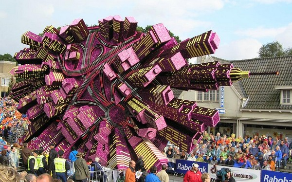 Gigantic Flower Sculpture