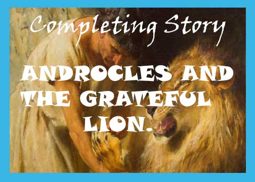 Androcles and the grateful lion story with moral.