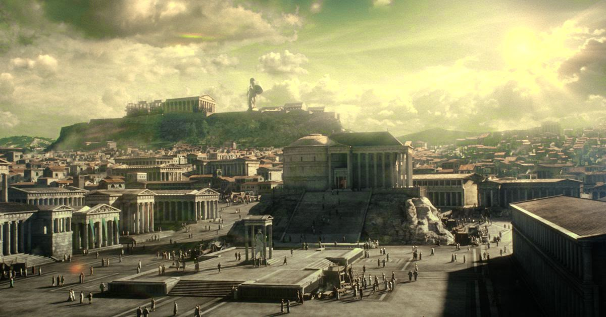A look at the way of life in the ancient greek cities