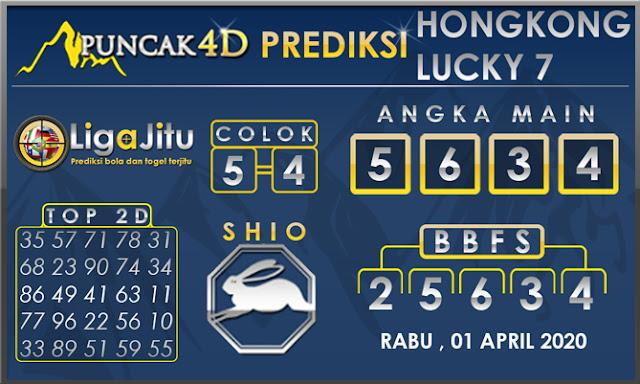 PREDIKSI TOGEL HONGKONG LUCKY7 PUNCAK4D 01 APRIL 2020