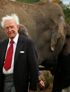 Bob Barker spends one million to save three elephants