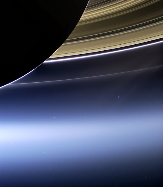 Saturn Seen From Earth