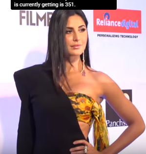 Katrina Kaif In Filmfare Awards 2017