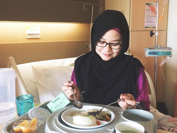 Seminggu bercuti di hospital : Part 1