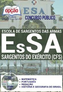 Apostila Concurso EsSA 2016