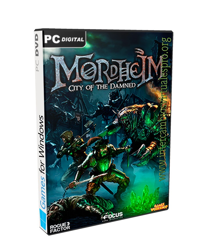Mordheim City of the Damned Undead poster box cover