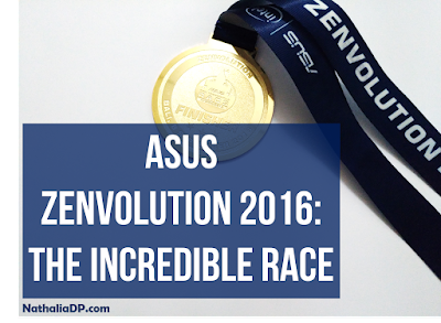 asus incredible race
