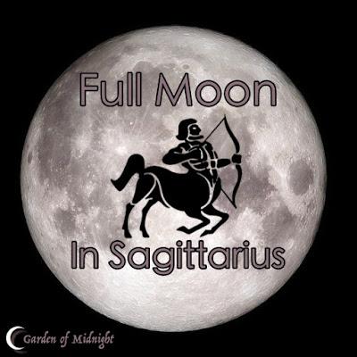 luna piena sagittario fasi lunari