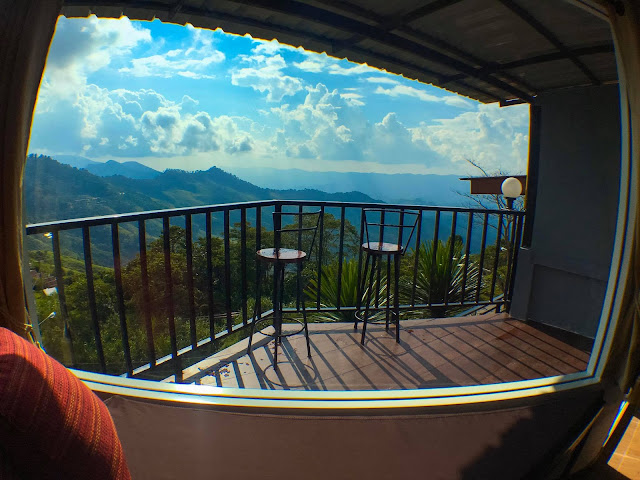 Accommodation at Doi Pha Tang, North Thailand