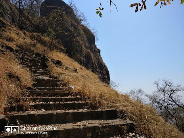 Sudhagad fort trek, main entrance of Sudhagad fort