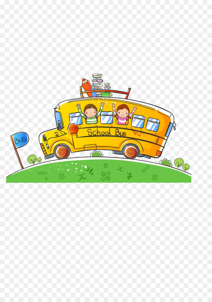 Gambar Bis Animasi : gambar, animasi, Gambar, Kartun, Sekolah, Gratis, Jualdesainku