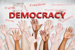 लोकतंत्र का सिद्धांत ऋग्वेद की देन है Democracy is a concept of rigveda