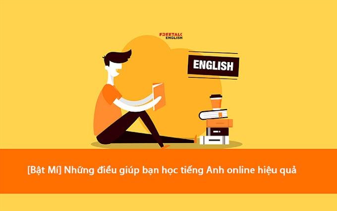 Những điều bạn chưa biết giúp học tiếng anh online hiệu quả