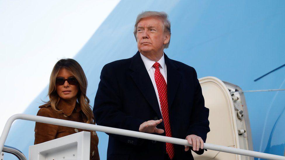 Donald Trump Hadiri Undangan DPR AS