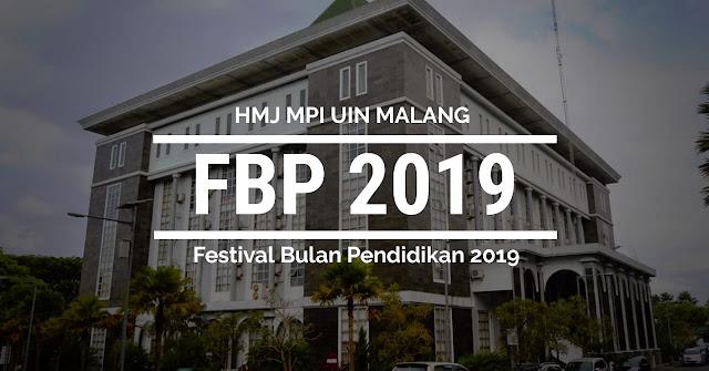 Festival Bulan Pendidikan (FBP) 2019 - UIN MALIKI MALANG