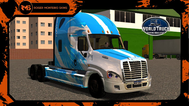 ROGER MONTEIRO SKINS - SKINS WTDS - FREIGHTLINER CASCADIA