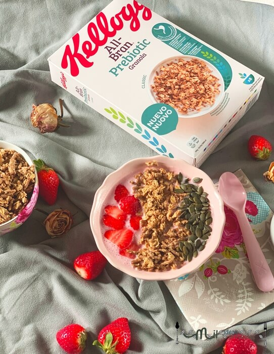all-brand granola para un buen desayuno